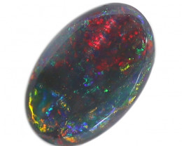 0.45CT BLACK OPAL STONE LIGHTNING RIDGE [CS251]