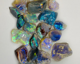 BRIGHT ROUGH OPALS FOR CUTTERS ***#054