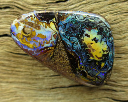 17cts, YOWAH OPAL~FACE DRILLED.