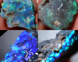 1510.00 CTS  BLACK OPAL ROUGH PARCEL-UNTOUCHED- LIGHTING RIDGE[BRP233]