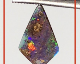 Pretty Kite Shape Boulder Opal - Queensland.