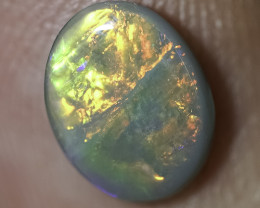 0.93 ct SOLID DARK OPAL LIGHTNING RIDGE GEM SBB120420