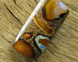 19cts, BOULDER MATRIX OPAL~WHOLESALE.