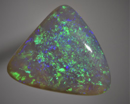 6.10 CT Highgrade Solid Crystal Opal from Lightning Ridge