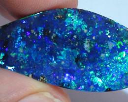 34.65 ct Top Gem Quality Blue Green Natural Boulder Opal *
