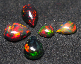 3.565CRT BRILLIANT BRIGHT PARCEL 5 PCS WELO OPAL (SMOCKED)-