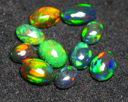 3.670CRT BRILLIANT BRIGHT 10 PCS PARCEL WELO OPAL (SMOCKED)-