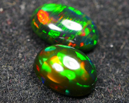 2.810CRT BRILLIANT BRIGHT BROAD SREEP PAIR WELO OPAL ( SMOCKED ) -