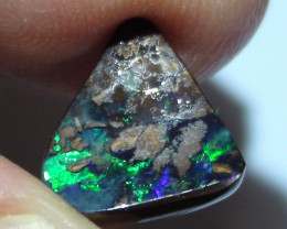 3.30 ct Boulder Opal Natural With Beautiful Blue Green