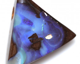 $1.80 PER CTS 45.10 CTS DRILLED BOULDER OPAL-WELL POLISHED [SEDA7127]