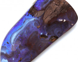 $1.20 PER CTS 47.5 CTS DRILLED BOULDER OPAL-WELL POLISHED [SEDA7136]