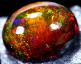 3.97cts Natural Ethiopian Smoked Black Opal / BF1510