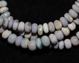69.00 CTS OPAL STRAND FROM MINTABIE-FACETED  -WITH CLIP [SOJ8060]