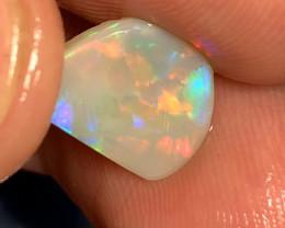 Multi Colour Semi-finished Dark Crystal Opal Rub