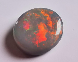 Lightning Ridge Australia Solid Dark Opal - 1.46 Cts