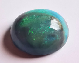 Lightning Ridge Black Picture Opal - 2.7 cts