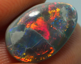 3.10CTS DARK OPAL FROM LIGHTNING RIDGE AL266