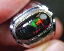 43.10 CT Gorgeous Indonesia Wood Fossil Opal Jewelry Ring