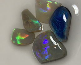 BEAUTIFUL OPAL RUBS - 9 CTS #162