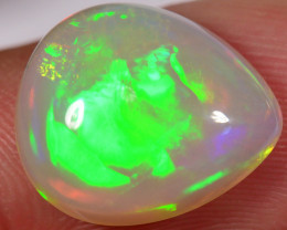 5.3 CT - VERY BRIGHT DROP SHAPED WELO OPAL CABACHON
