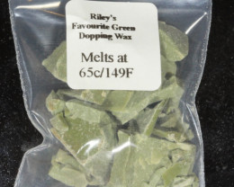 Green Dopping Wax- Riley's Favourite  65C/149F [26981]