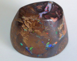 195.30 ct Gem Multi Color Queensland Koroit Boulder Opal Specimen