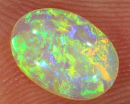 0.95ct 9x6.5mm Solid Lightning Ridge Crystal Opal [LO-2229]