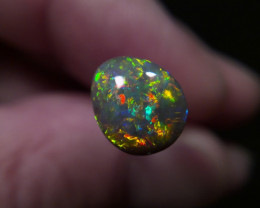 Top Top Gem! Lightning Ridge opal Specimen, supper bright and colorful