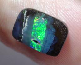 4.05 ct Boulder Opal Natural Gem Blue Green