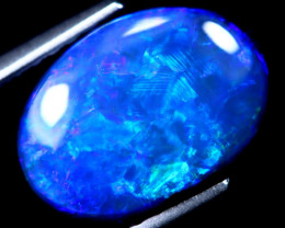 2.11cts Lightning Ridge Opal Stone / HM48
