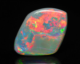 Lightning Ridge Red on Black Opal, 1.2 ct