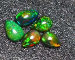 2.655CRT BRILLIANT BRIGHT PARCEL 5 PCS WELO OPAL (SMOCKED) -