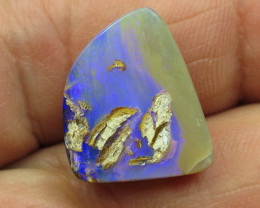 12cts, BOULDER PIPE OPAL~WHOLESALE STONE.