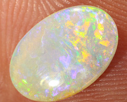 0.8ct 10x6.5mm Solid Lightning Ridge Crystal Opal [LO-2226]