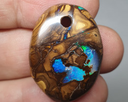 35.10cts DRILLED BOULDER OPAL(ONRA - B2060)