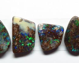 16.39ct Queensland Boulder Opal 6 Stone Parcel