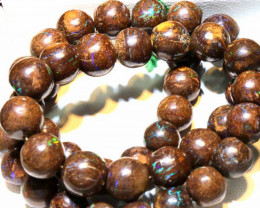 293.20  CTS BOULDER OPAL BEADS  STRANDS TBO-A935