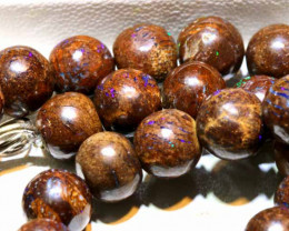 270  CTS BOULDER OPAL BEADS  STRANDS TBO-A936