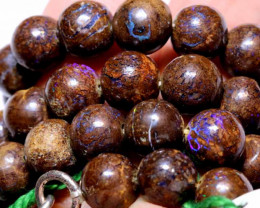 190  CTS BOULDER OPAL BEADS  STRANDS TBO-A940