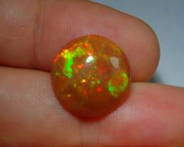 Bright Natural Ethiopian Welo Multicoloured Fire Opal