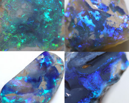 181.15 CTS GAMBLE  COLOURFUL ROUGH PARCEL FROM LIGHTNING RIDGE[BR7471]