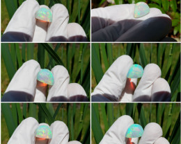 Screamin Bright® Saturated Blue Crystal Welo Opal