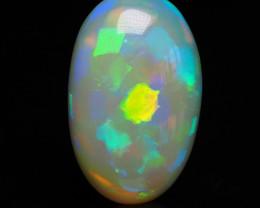 Ethiopian Welo Opal, Block pattern, 3.71 ct