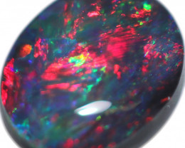 0.56 CTS BLACK OPAL STONE-FROM  LIGHTNING RIDGE - [LRO1095]