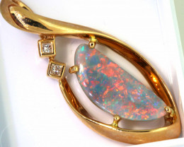 20.30 CTS BLACK  OPAL PENDANT   OF-M632  LAZ