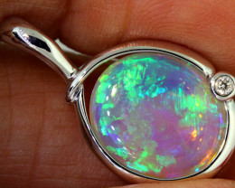 13.06 CTS CRYSTAL OPAL PENDANT   OF-M555   LAZ