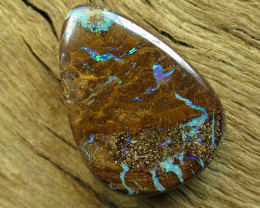 18.40.cts DRILLED BOULDER MATRIX OPAL