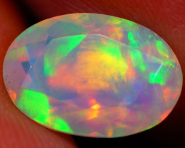 1.72 CT Extra Fine Quality Faceted Cut Ethiopian Opal -GF187