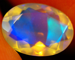 1.72 CT Extra Fine Quality Faceted Cut Ethiopian Opal -GF190