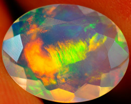2.19 CT Extra Fine Quality Faceted Cut Ethiopian Opal -GF203